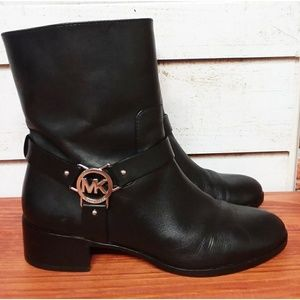 Michael Kors Leather Boots 8.5